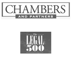 Image of Chambers and partners and Legal 500 logos